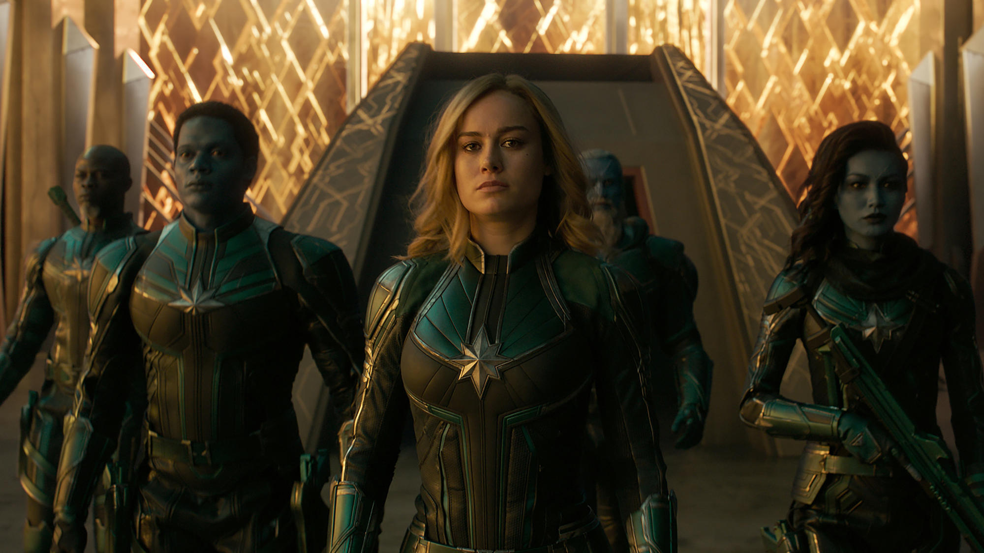 captain marvel' review: brie larson suits up for duty in a universe