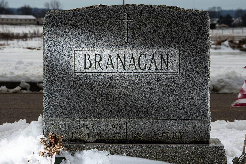 Holly Branagan grave