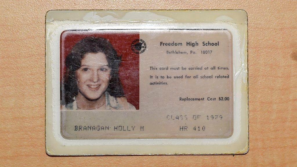 Holly Branagan's Freedom High School ID.