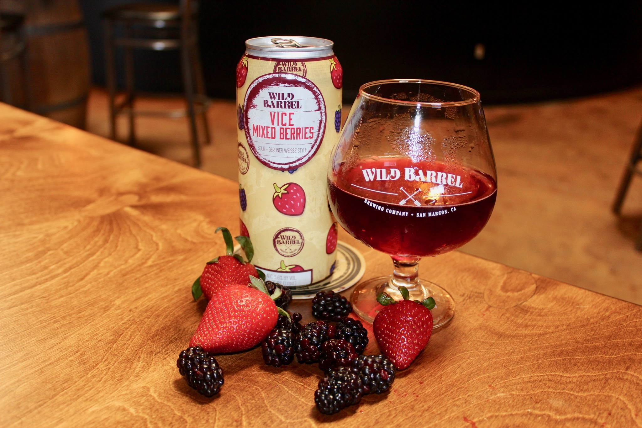 Beer of the week: Vice Mixed Berries from Wild Barrel Brewing Company