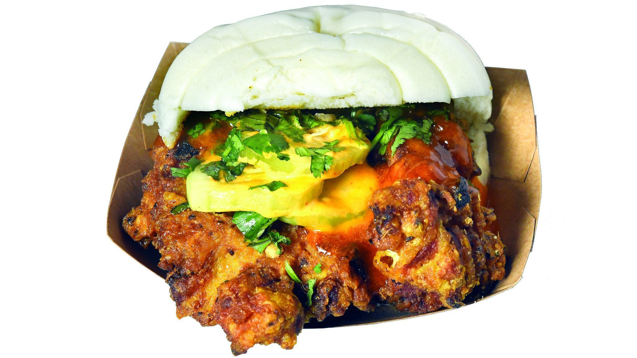 Neighborhood Bird sandwich at Ekiben