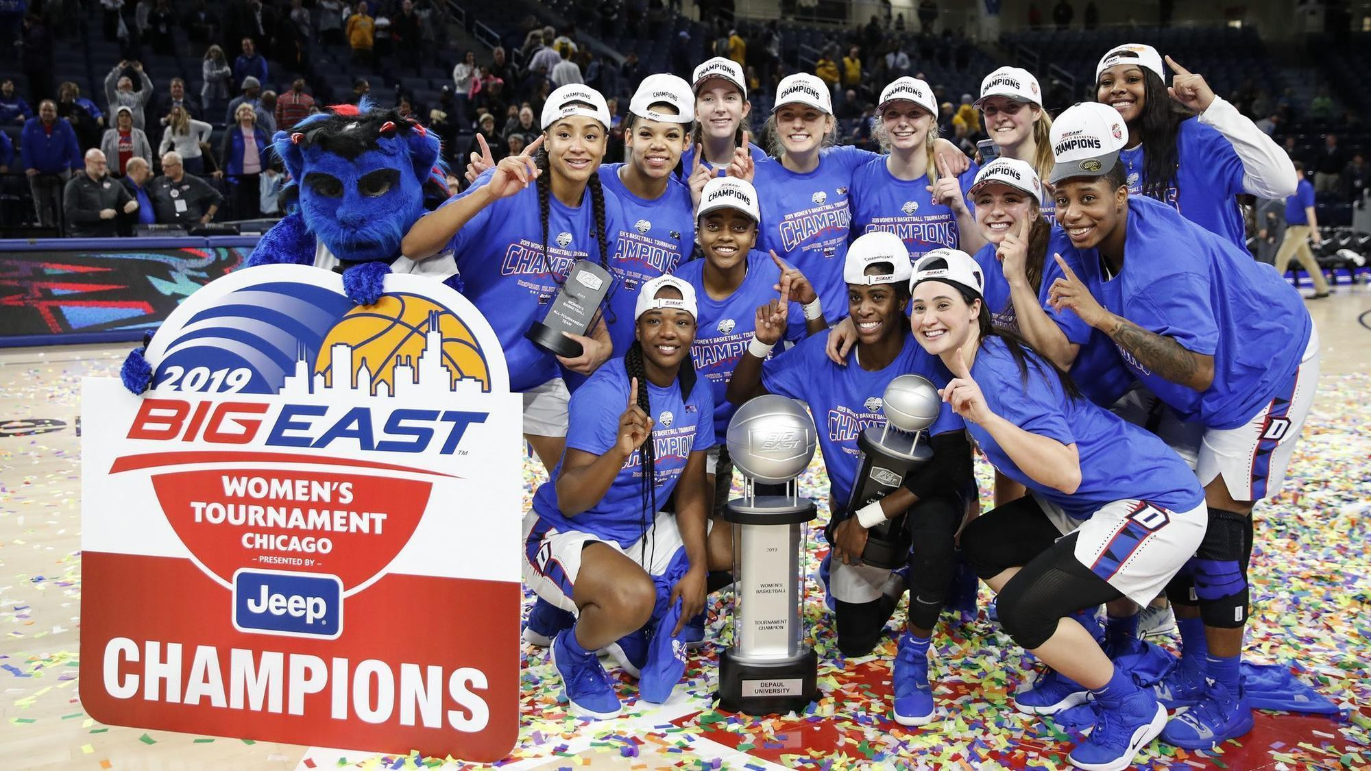 da08acebe6a DePaul women win their 4th Big East Tournament title in 6 years ...