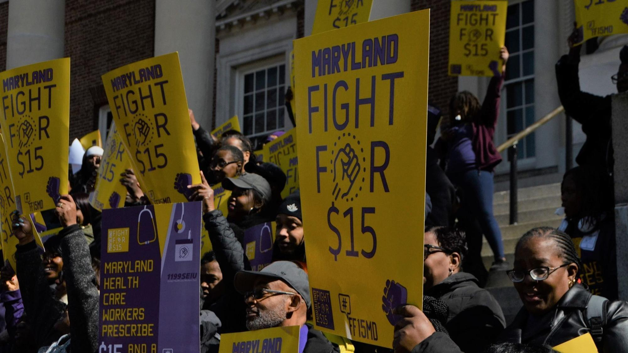 first image of Maryland State Step Increases with Maryland Senate OKs bill that would boost minimum wage ...