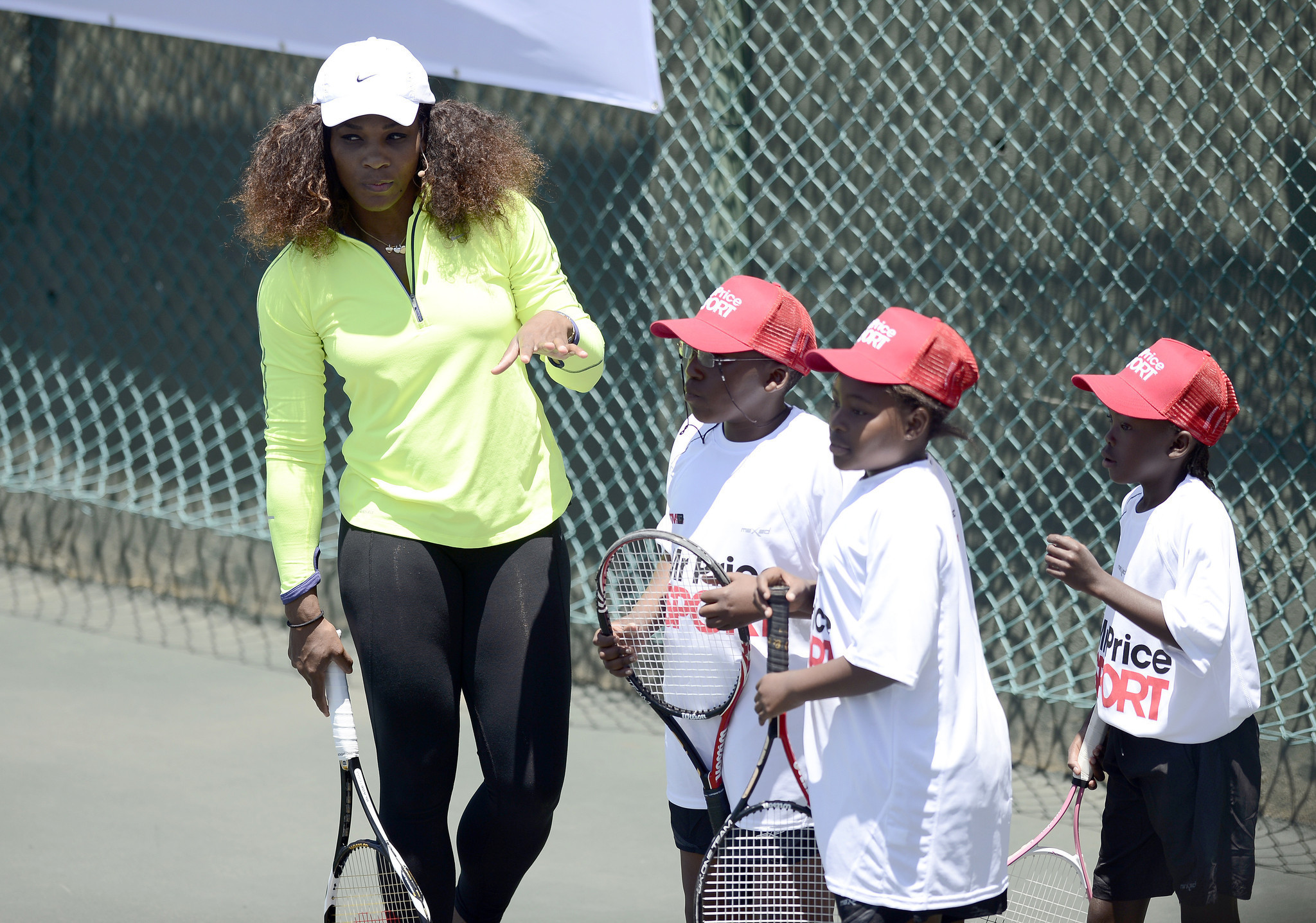 2d0ca01967d Venus and Serena Williams ready for tennis after Africa tour - LA Times