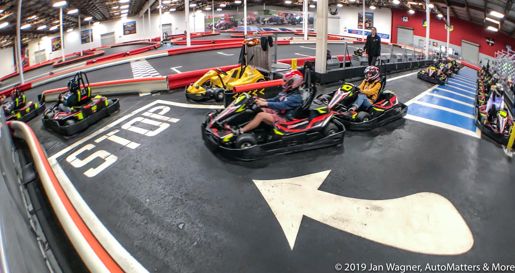 Drive racetrack