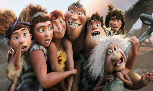 bb0f7fa5ecd00 Review   The Croods  lacks a spark of fire - LA Times