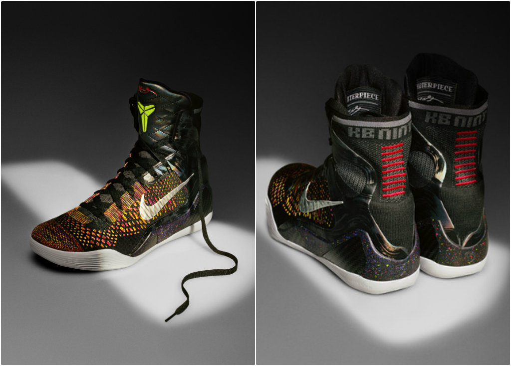 be7d647ba386 Kobe Bryant on boxing shoes