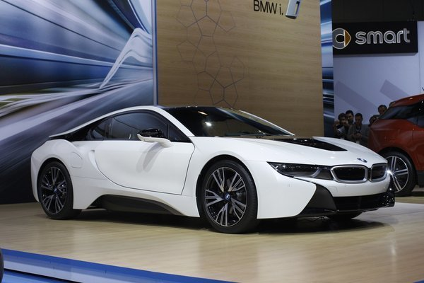 L A Auto Show Bmw Debuts I8 As Seen In Mission Impossible Movie La Times