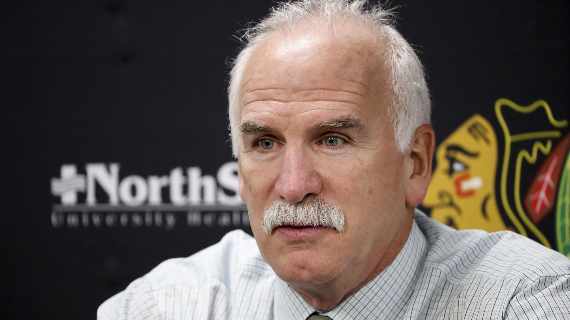 Former Blackhawks coach Joel Quenneville breaks his silence and eyes return to coaching sooner than later, but 'no hurry'