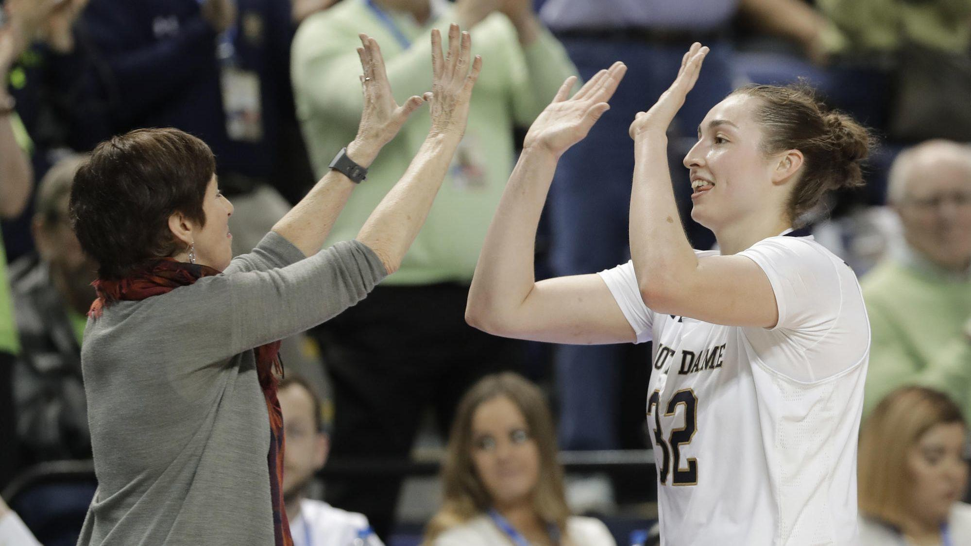 ESPN mistakenly posts NCAA women's bracket hours early — revealing the matchups for No. 1 seed Notre Dame and DePaul