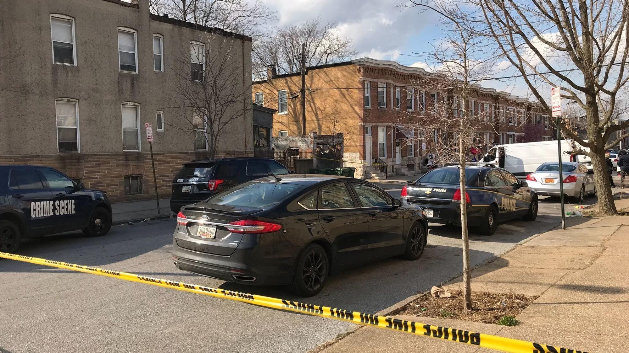 Man Shot Inside West Baltimore Home Same Block Of Triple Shooting