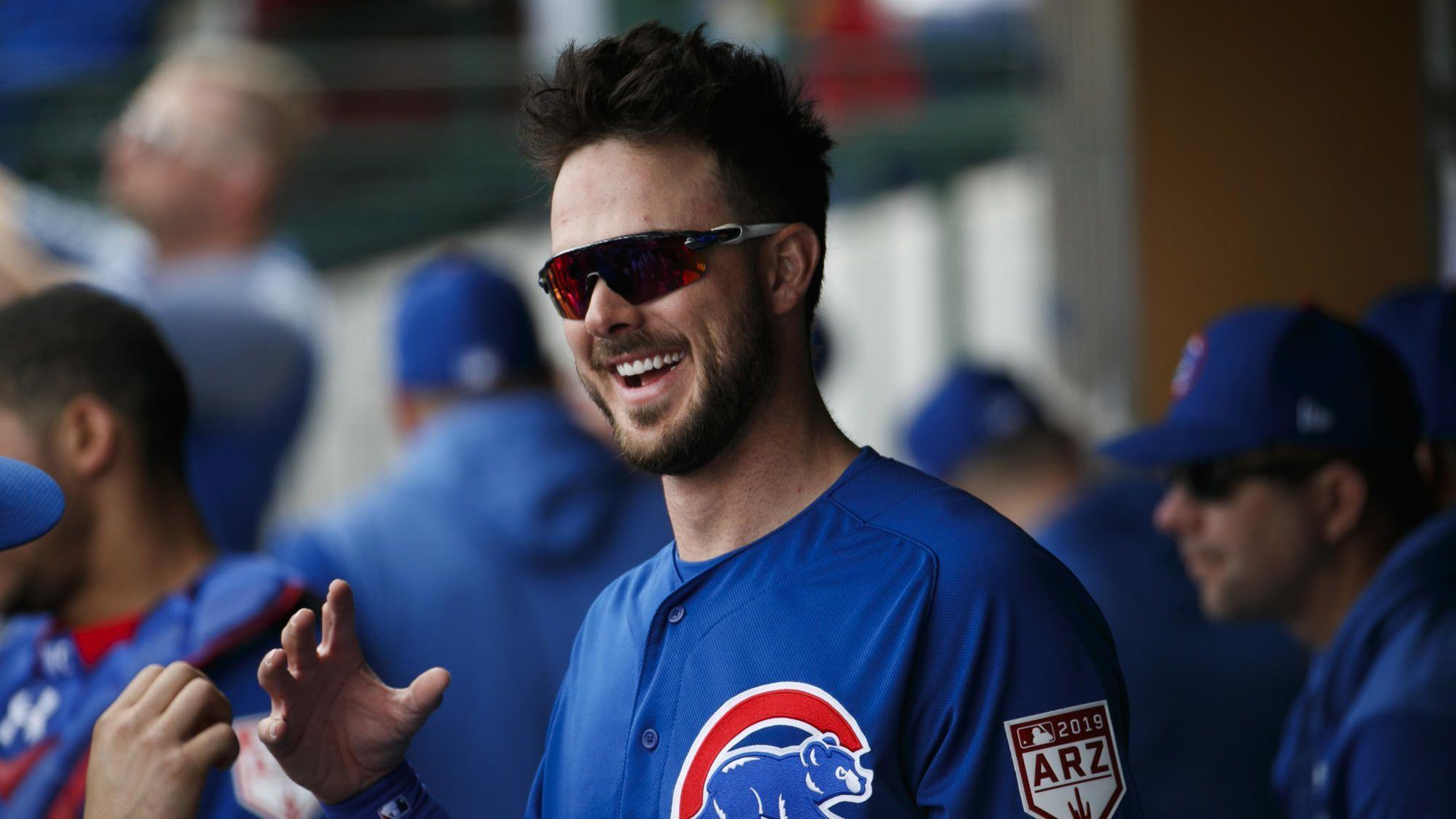 Visit with Bulls gives Kris Bryant a greater appreciation of NBA players' skills