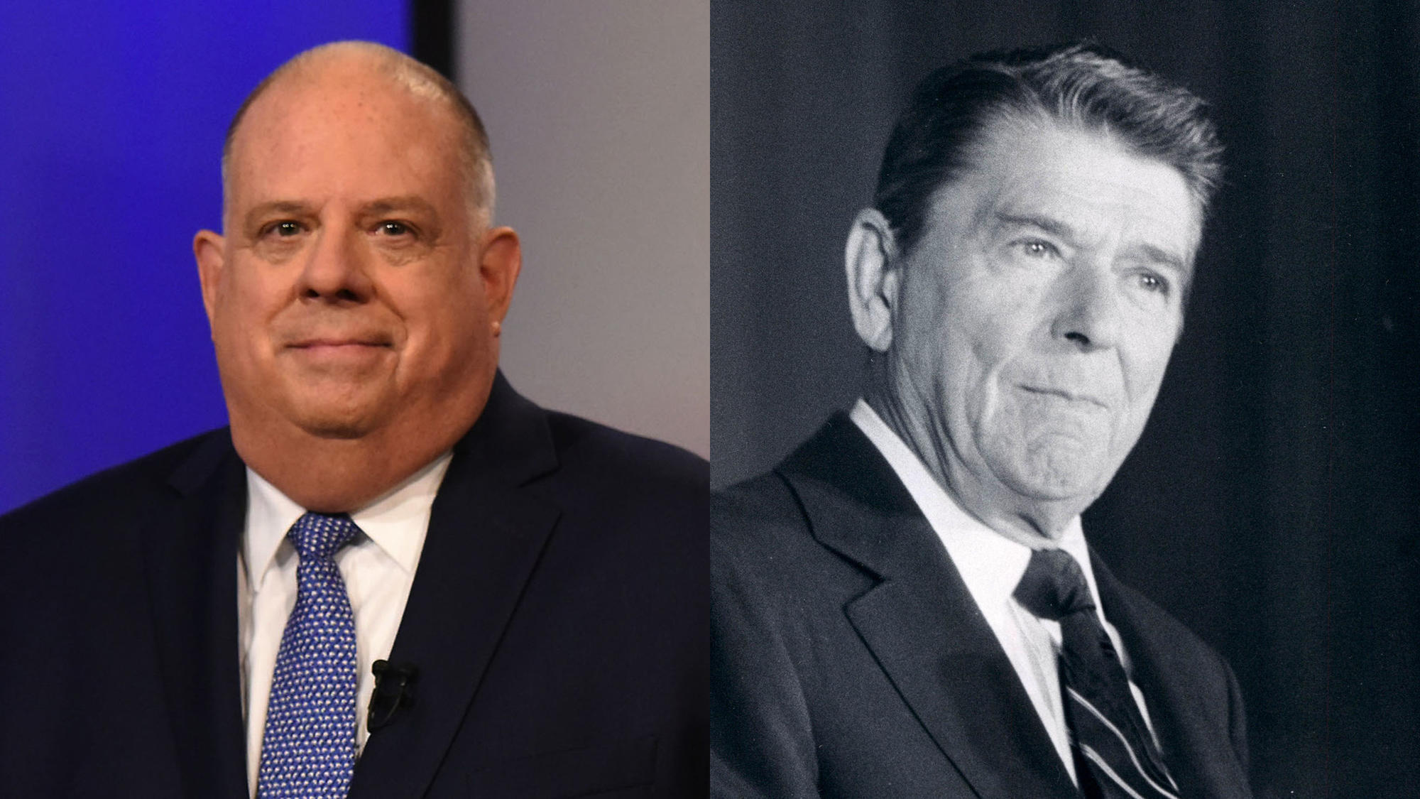 Maryland Democrats: Hogan's claim of being a Reagan Republican signals 'dog whistle' white nationalism