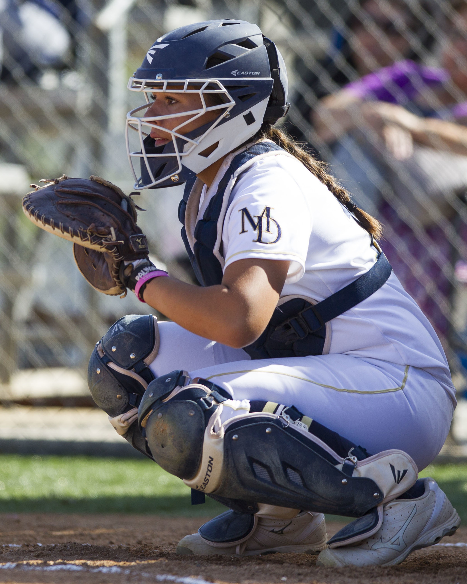 Alyssa Garcia leads the Crusaders with 16 hits in 24 at-bats.