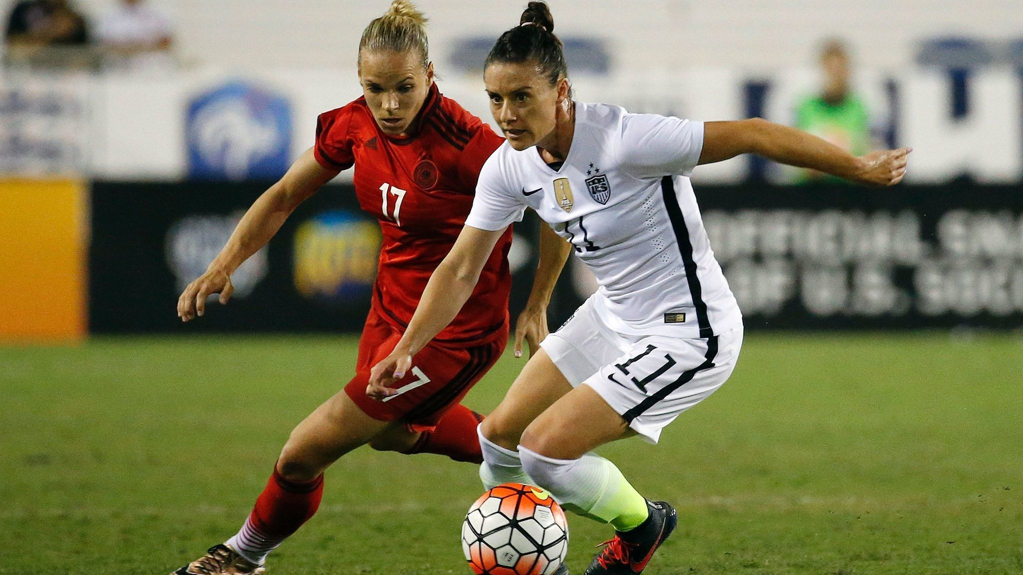 Ali Krieger on return to USWNT: I would run through a brick
