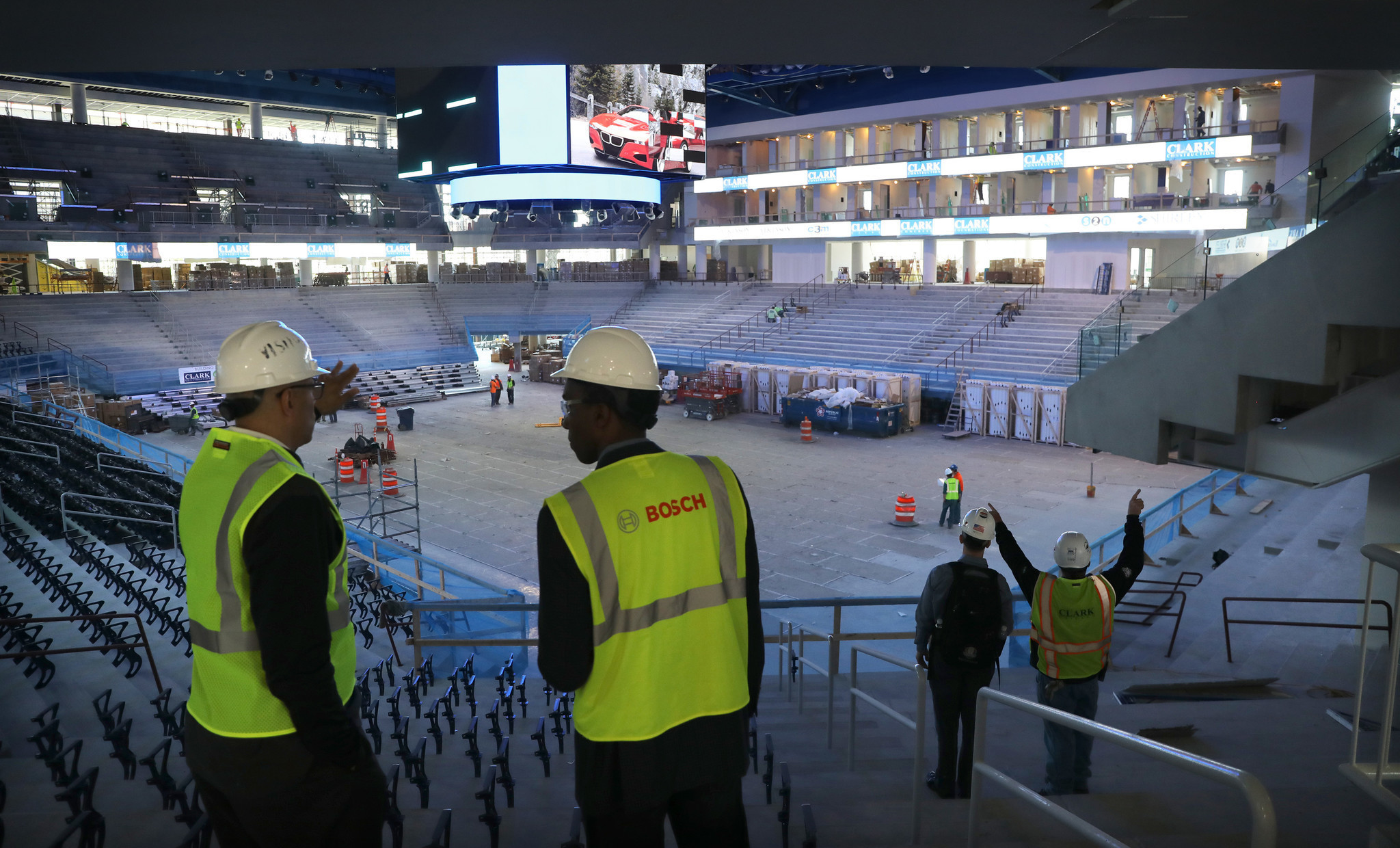 Exterior: Inside Wintrust Arena, Home To The Sky And DePaul