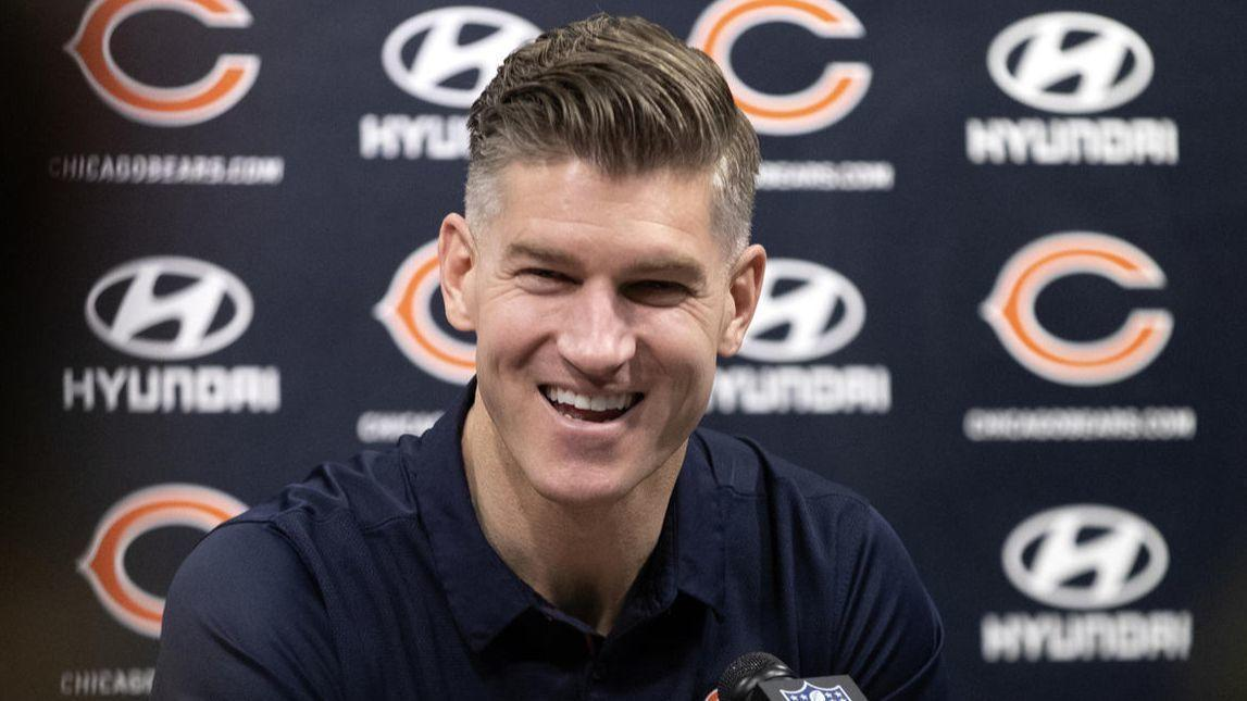 Bears GM Ryan Pace voted NFL Executive of the Year by his peers