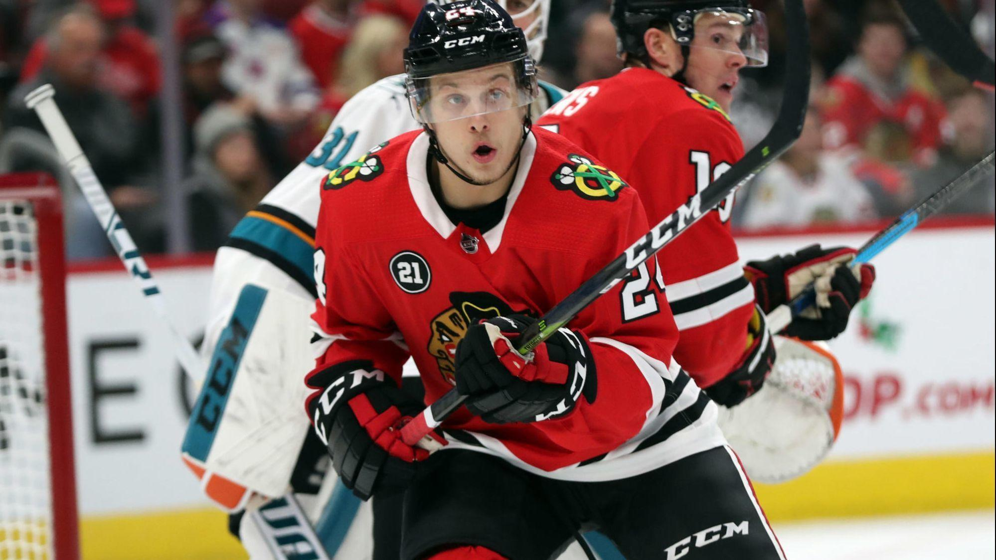 Dominik Kahun's body of work has the Blackhawks excited for what he can bring to the future