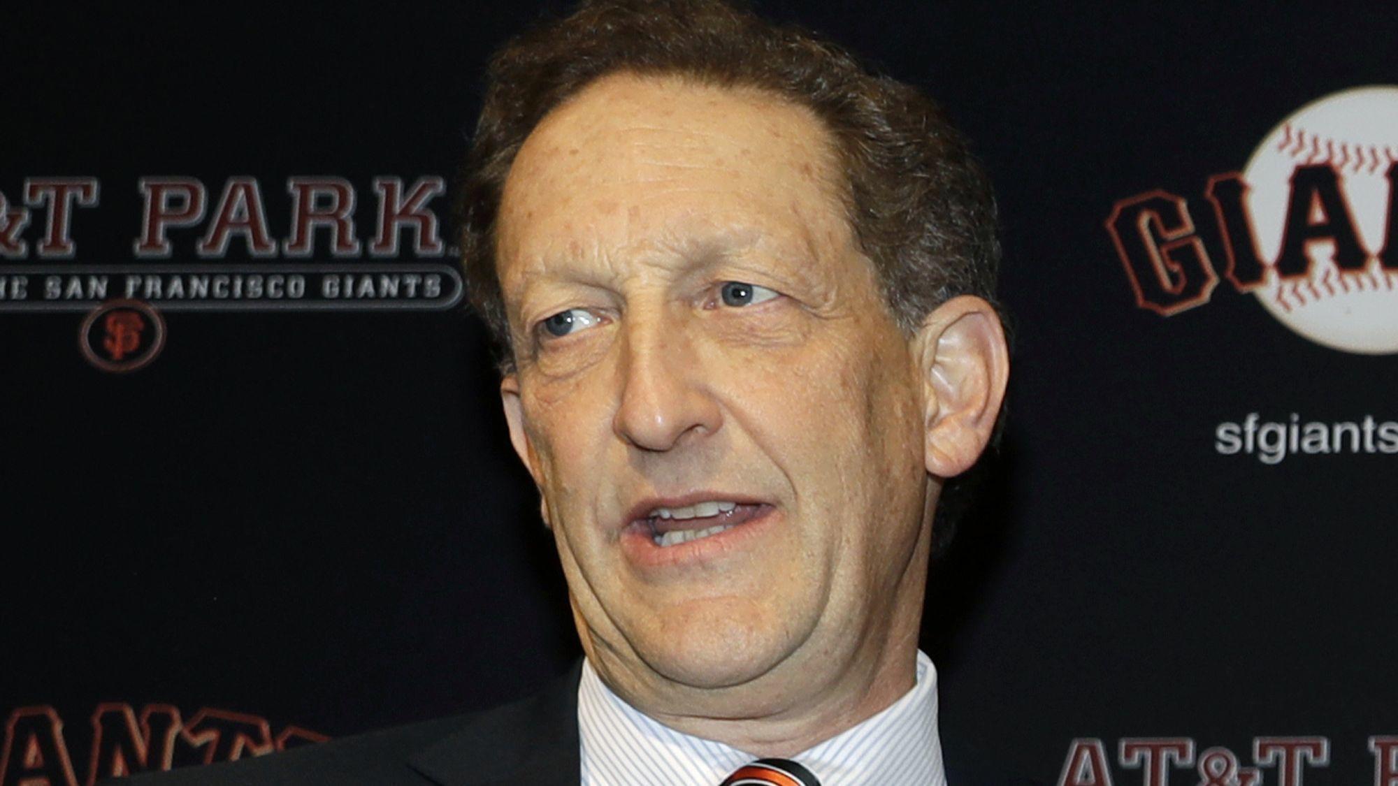 Giants president Larry Baer suspended by Major League Baseball