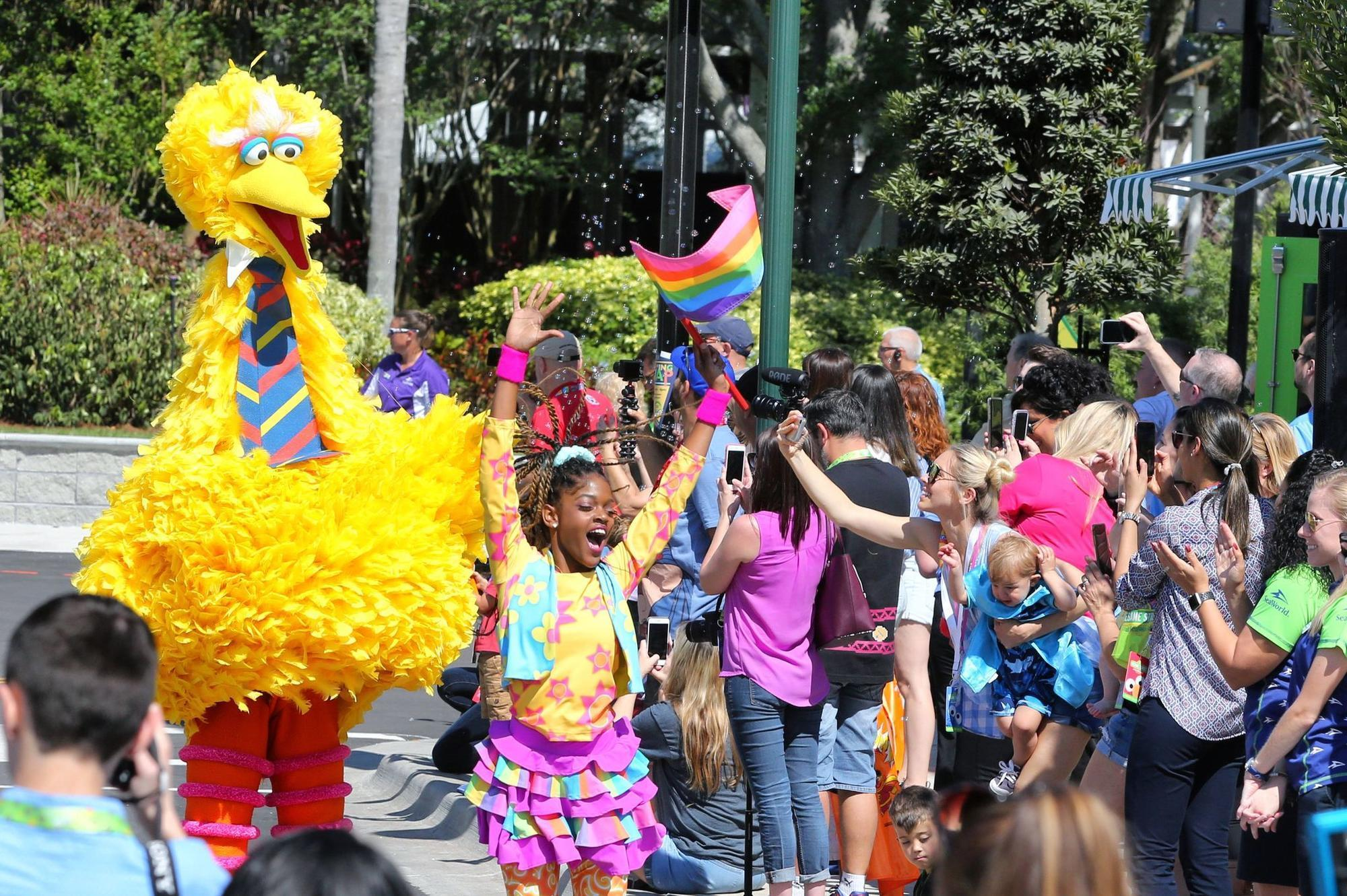 Sesame Street comes alive at SeaWorld Orlando's expansion set to open Wednesday