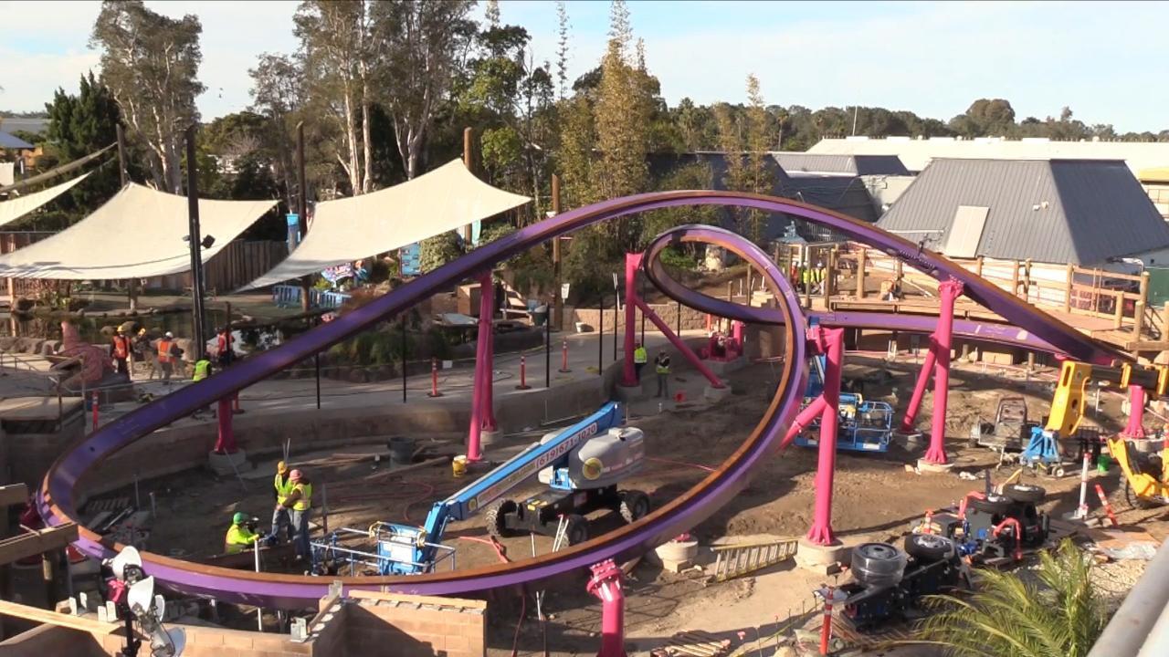 SeaWorld's latest coaster, Tidal Twister, opening May 24