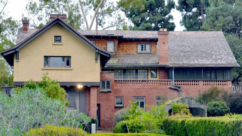 SAN DIEGO, CA-- The Marston House was built in 1905 for George and Anna Marston. It?s at the northwe