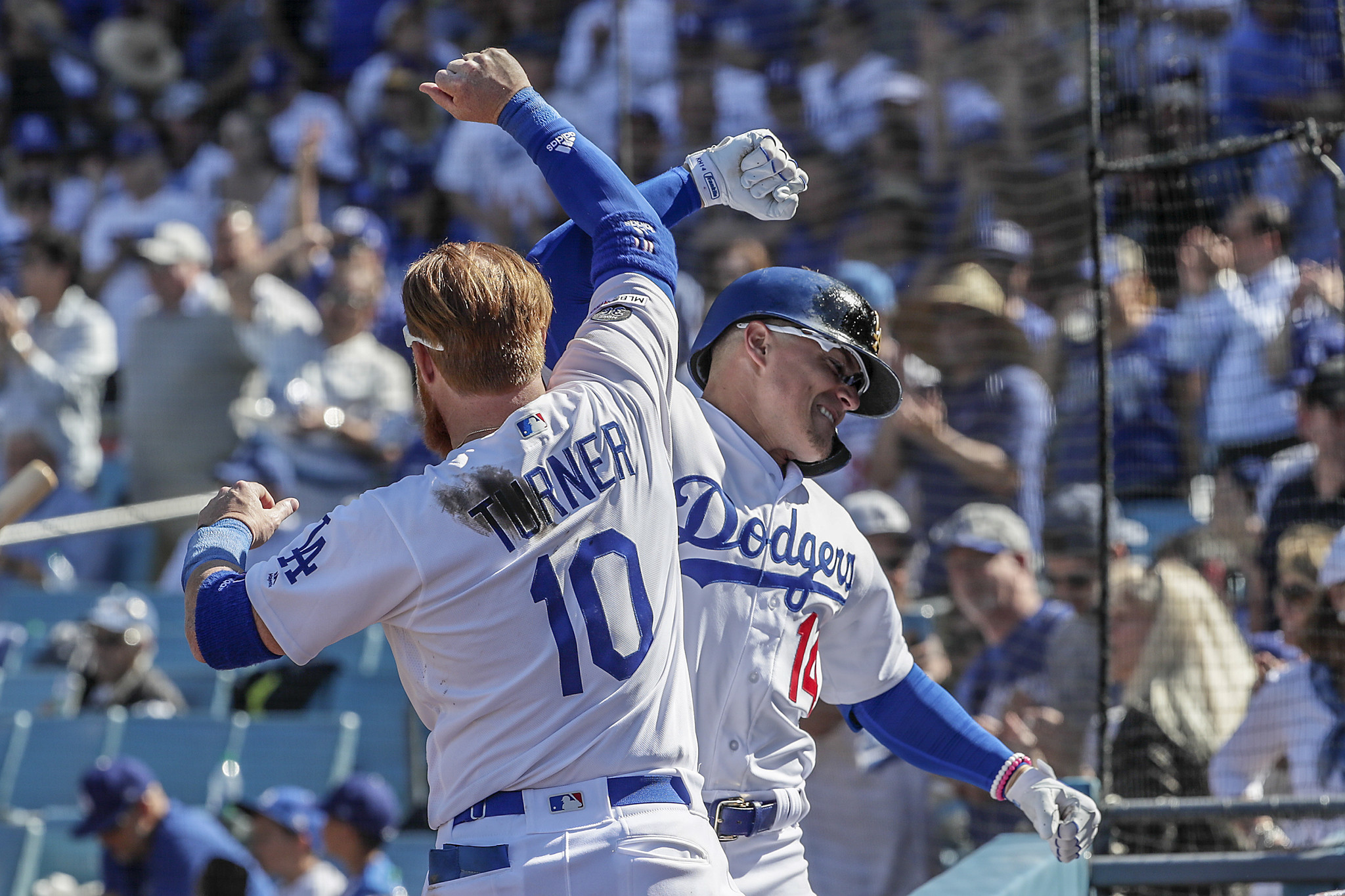 dodgers opening day   los angeles times