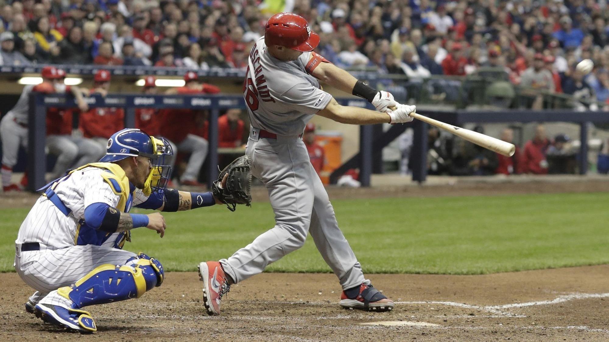 Paul Goldschmidt blasts 3 home runs in the Cardinals' 9-5 ...
