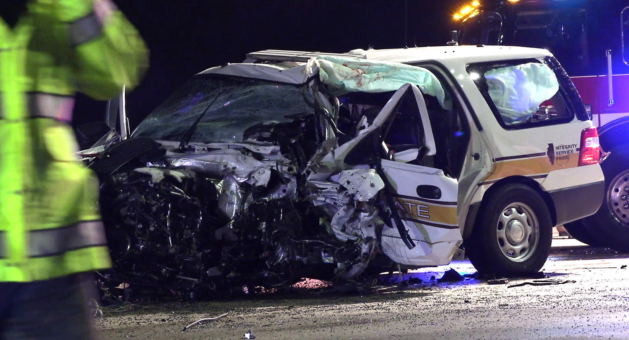 The soldier died in an accident on I-94, near Libertyville, the 2nd