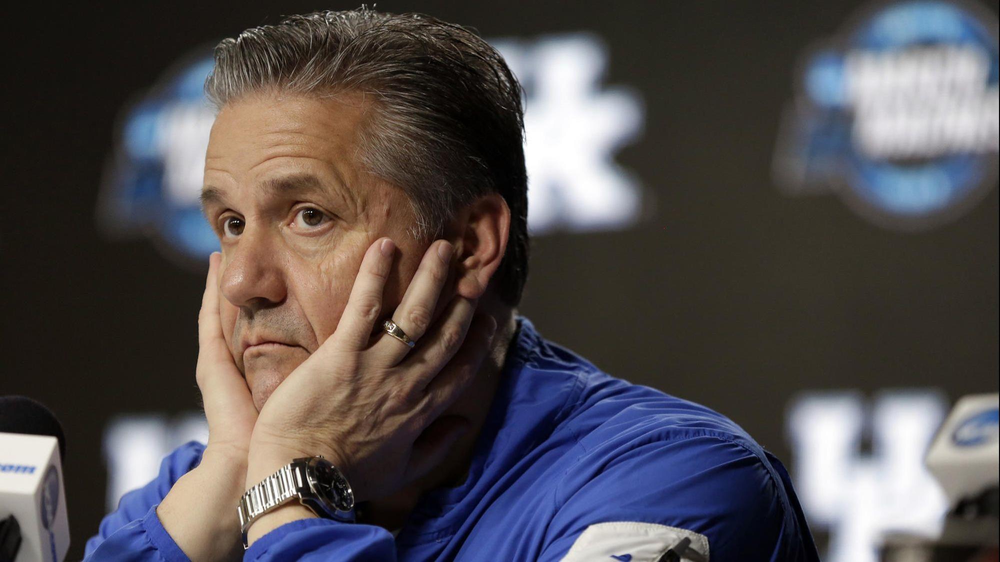 Uk Basketball: John Calipari Jokes About Urinating On Charles Barkley's