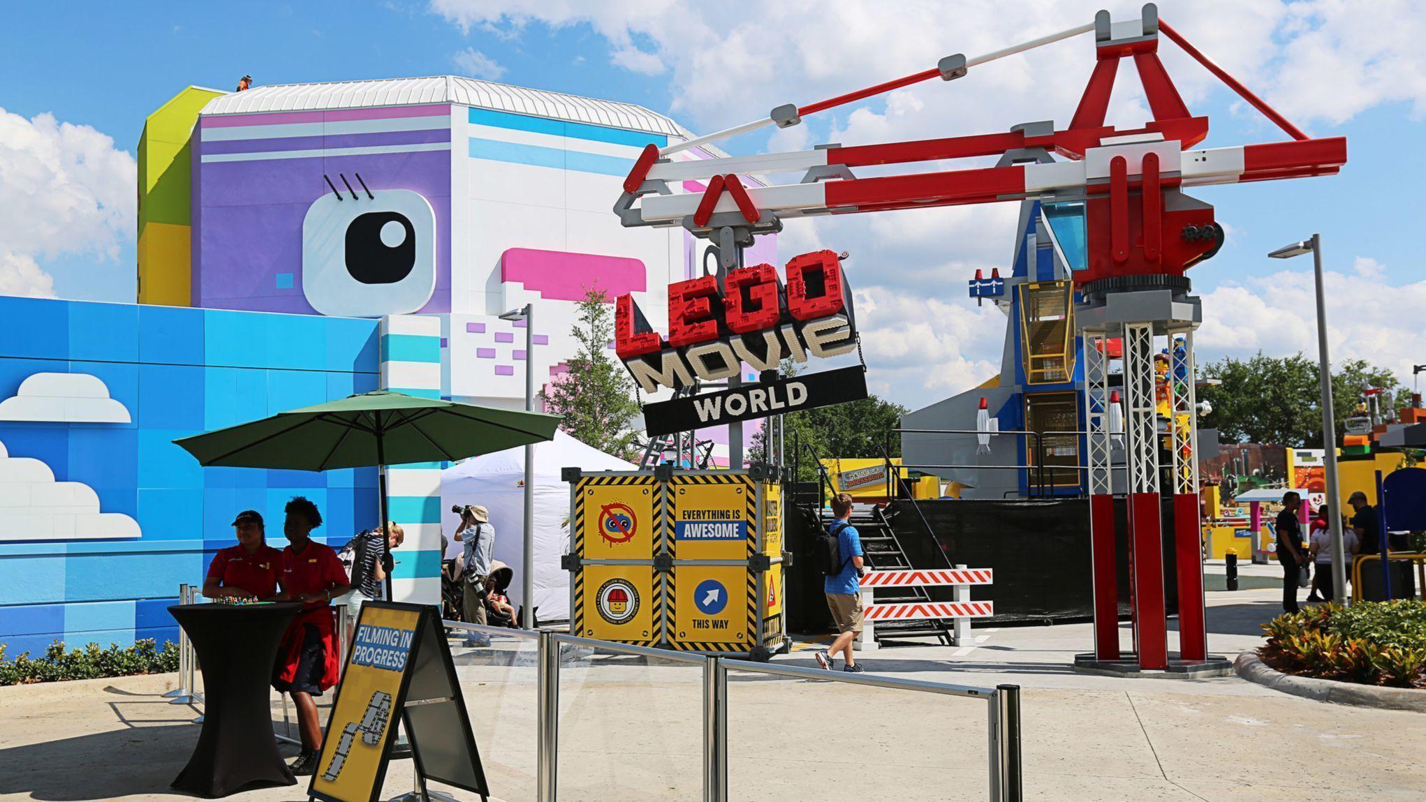 Legoland Florida: Rides rumble into new Lego Movie World ...