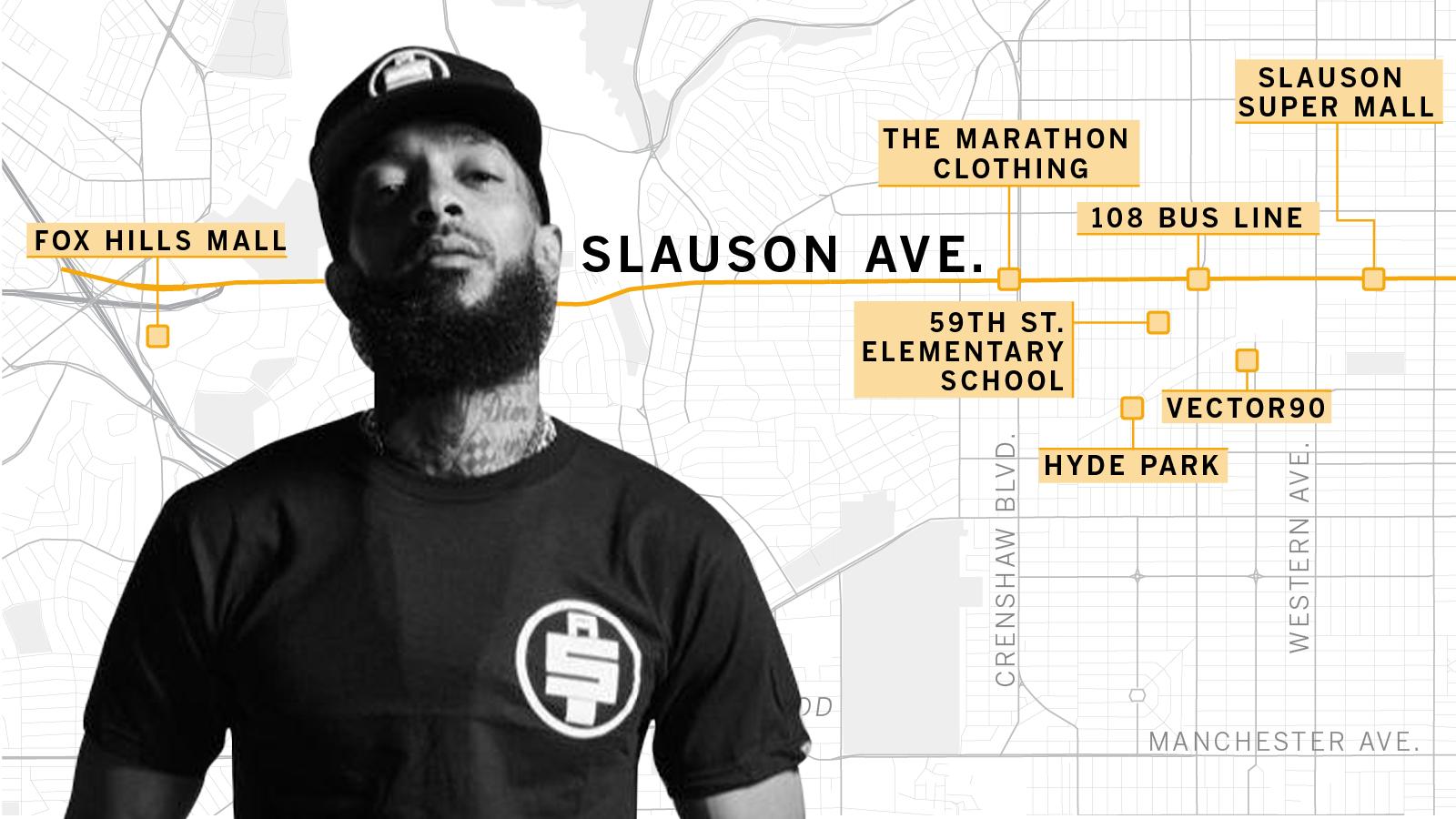 How Nipsey Hussle saw Slauson Avenue - Los Angeles Times