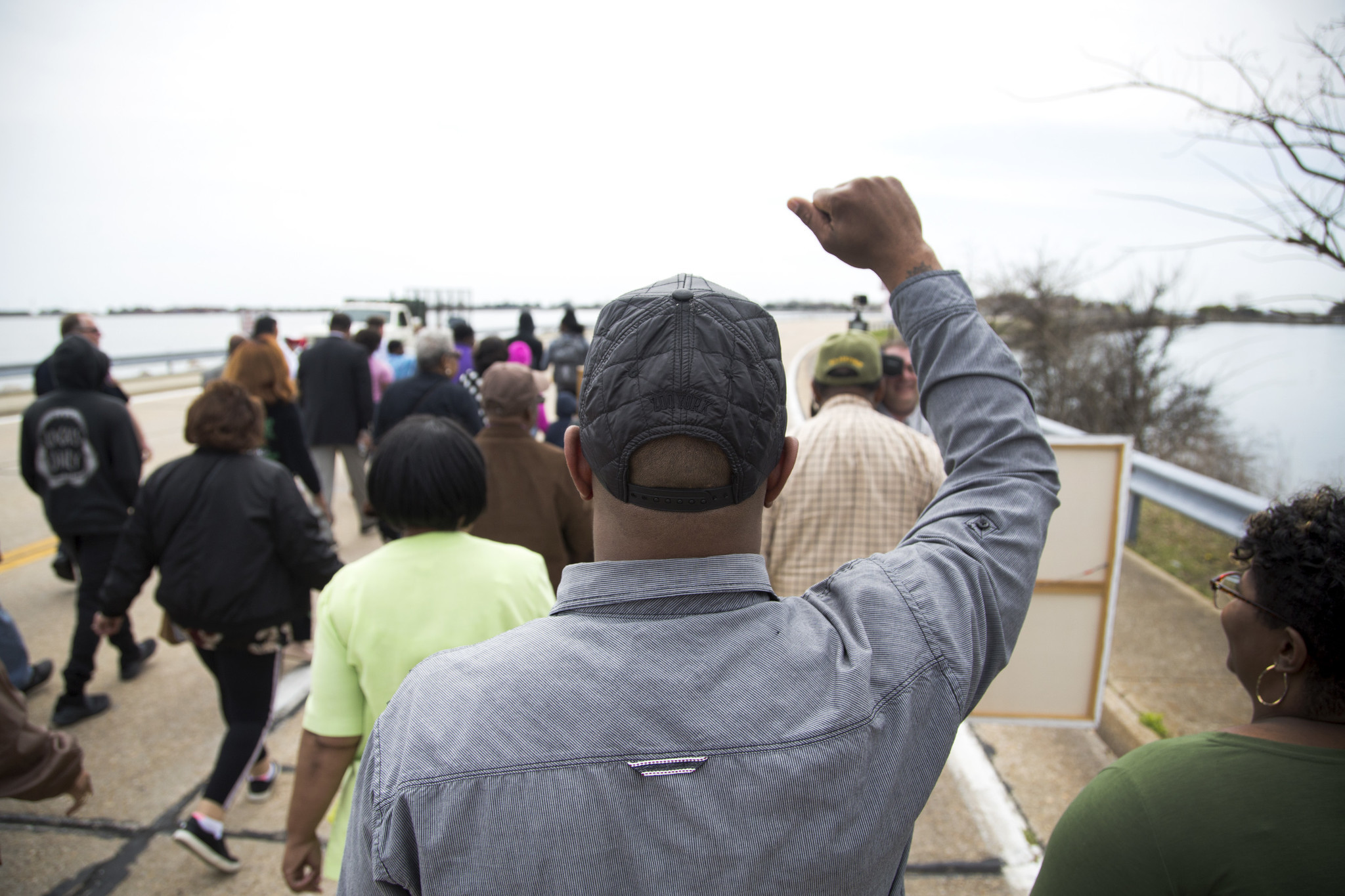 First Annual Unity March Held in Honor of Dr  Martin Luther King Jr