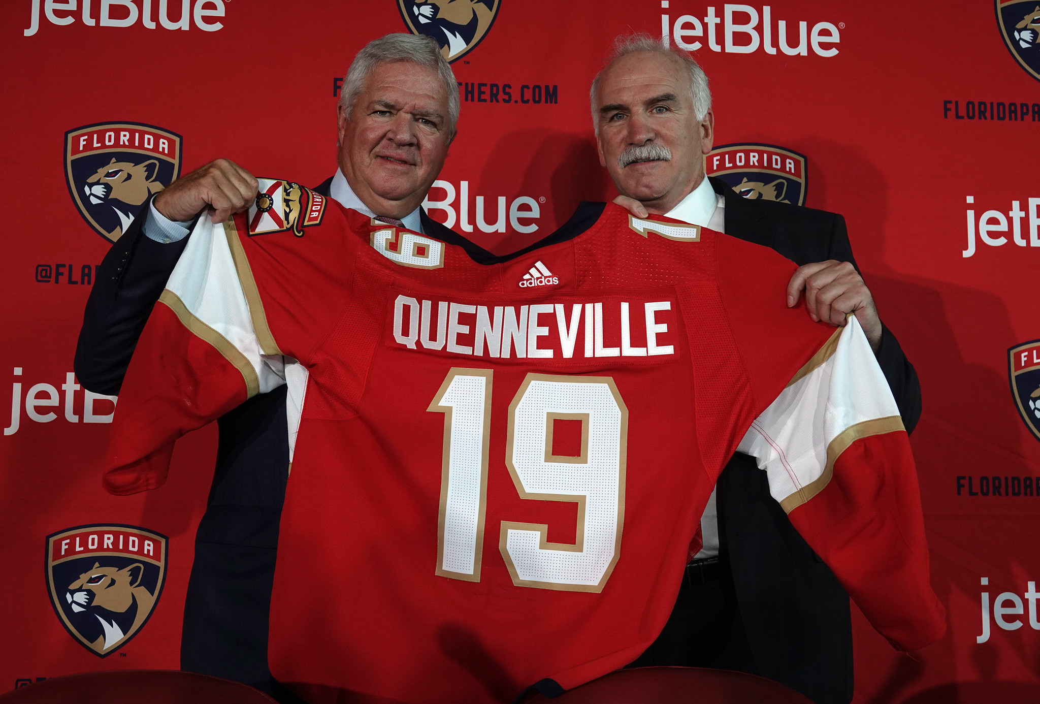 4b558fd2cdf Photos  Florida Panthers name Joel Quenneville head coach