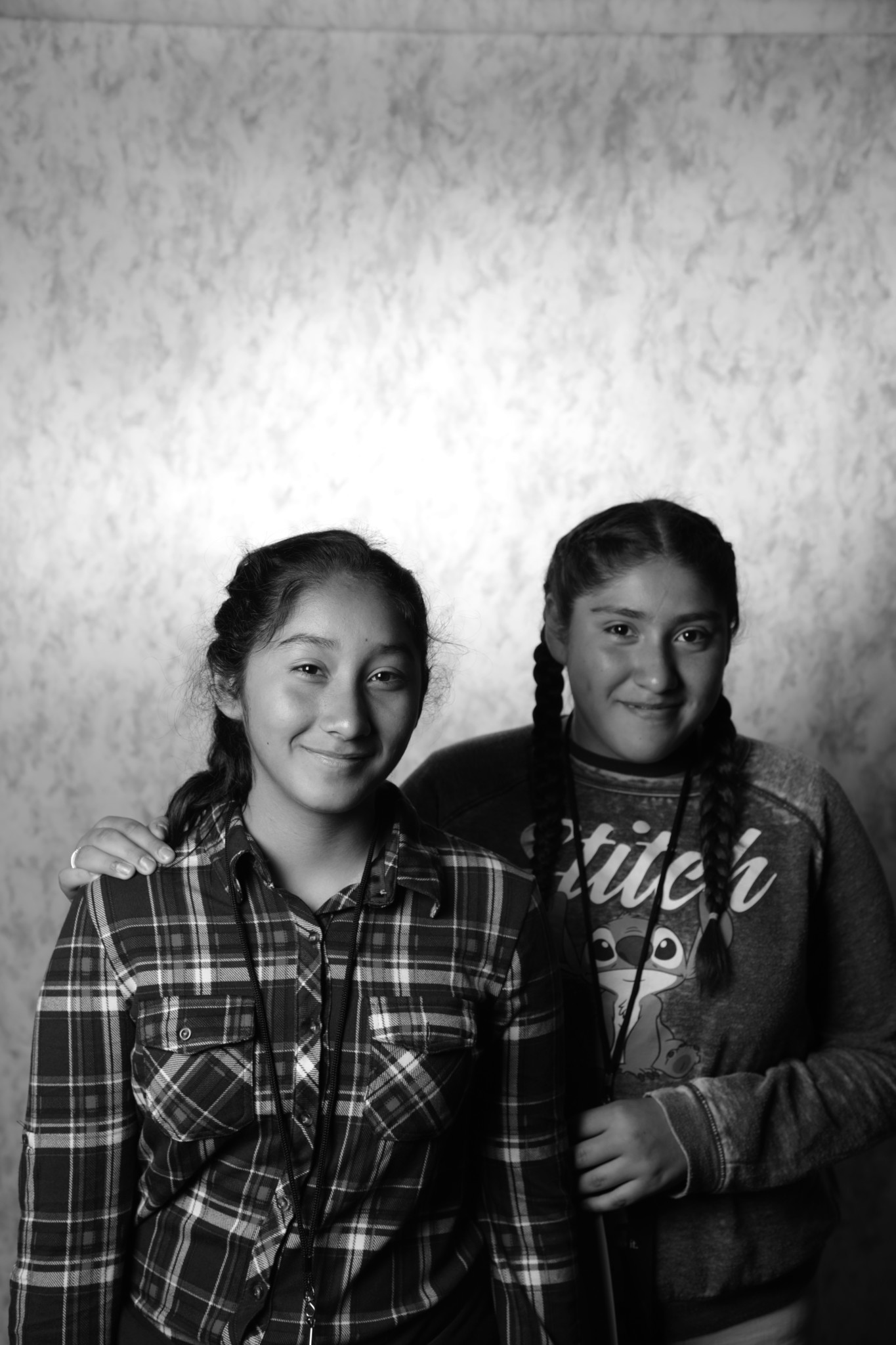 Twins Delilah and Joycelyn Medina