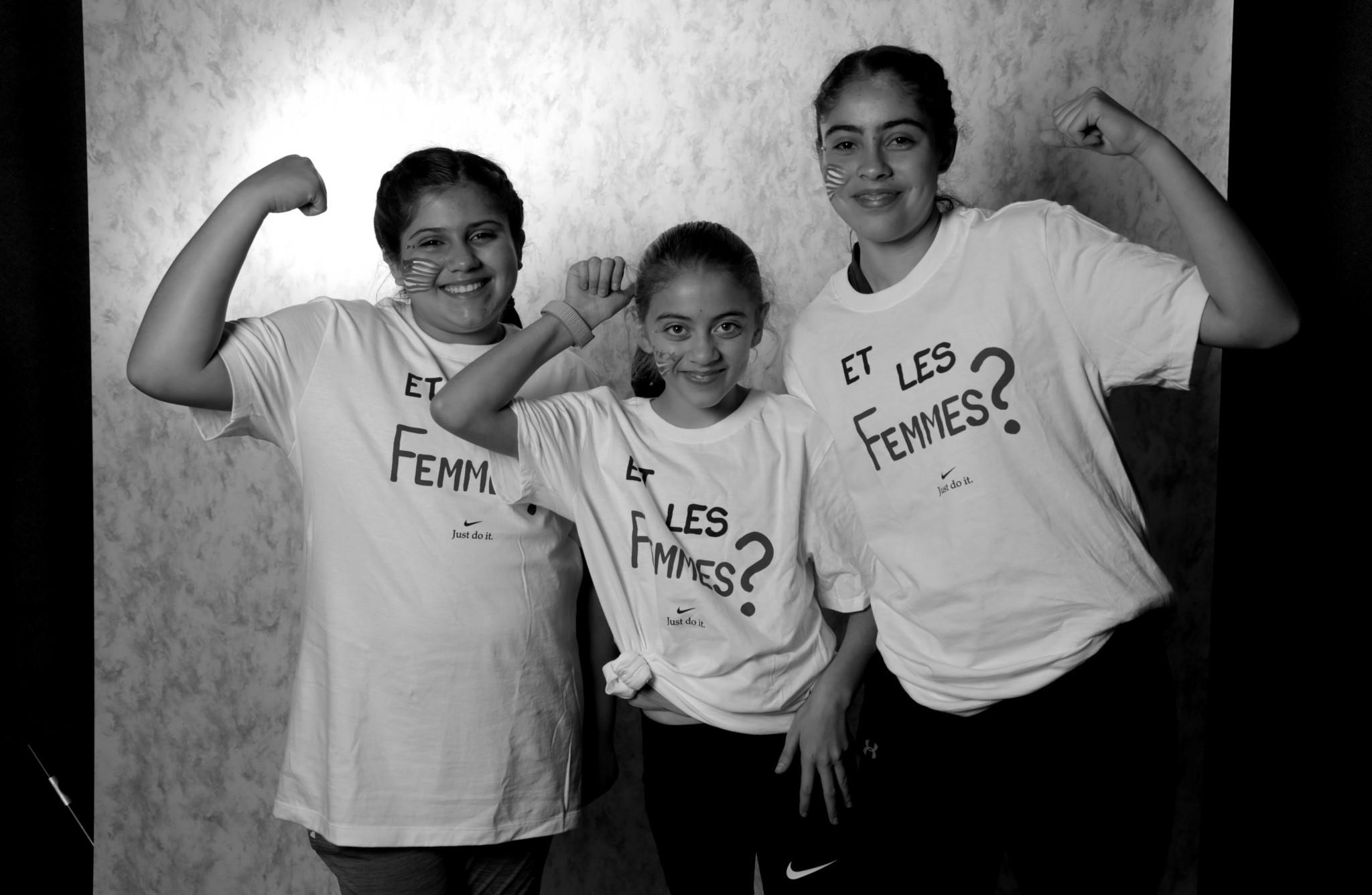 Viriemily Benitez, Aimee Benitez, and Valeria Benitez