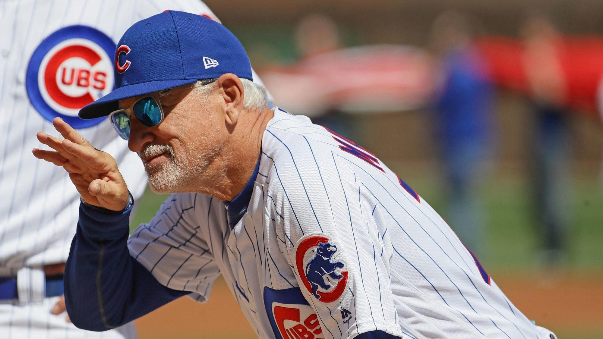 Joe Maddon's future continues to twist as Cubs try to recover from slow start