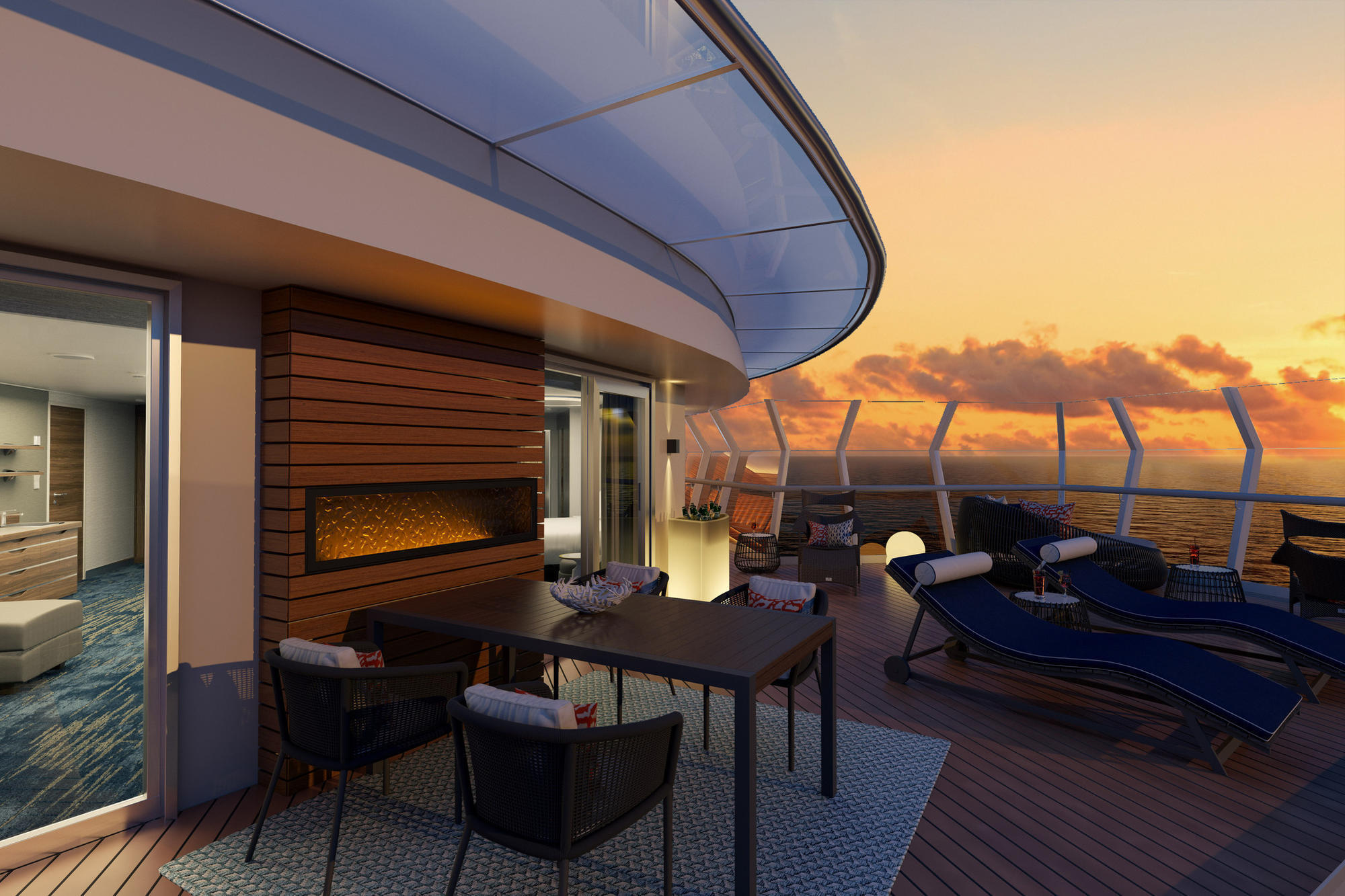 Carnival reveals top-level suite details for new Mardi Gras cruise ship
