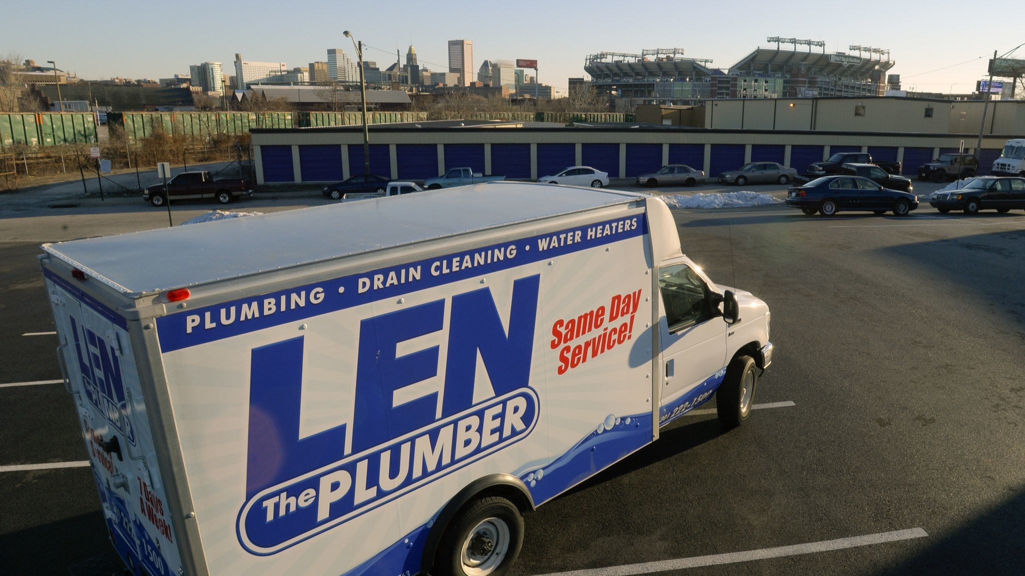 BALTIMORE, MD -- 2/24/14 -- For Sun Magazine Readers' Choice. Best plumber: Len the Plumber. Photo b