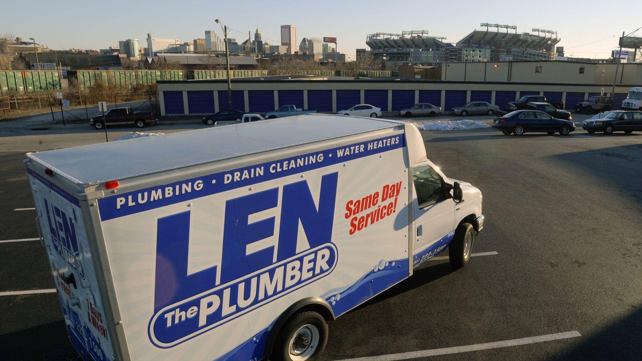 BALTIMORE, MD -- 2/24/14 -- For Sun Magazine Readers' Choice. Best plumber: Len the Plumber. Photo b