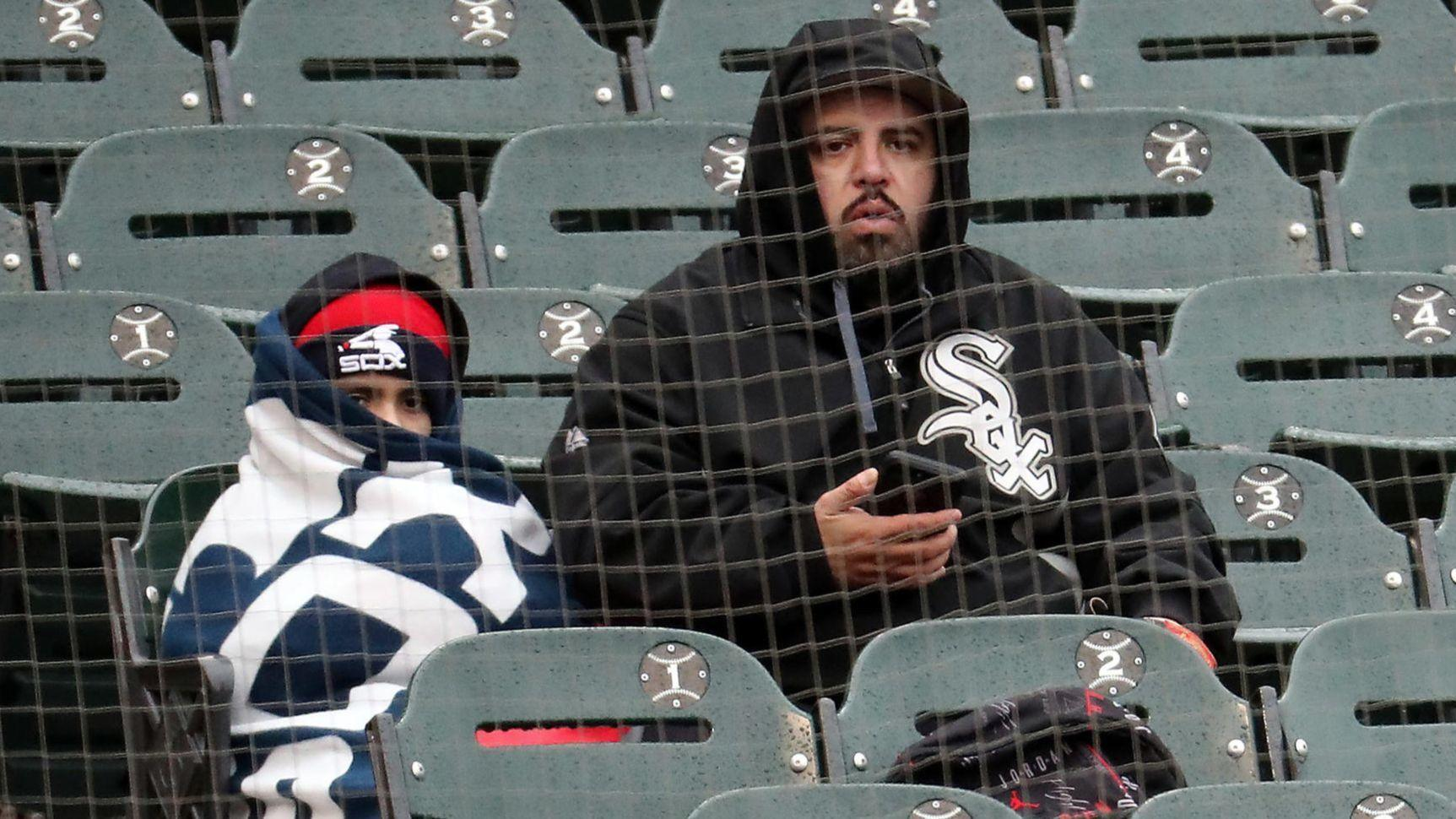 4c421f753f687 Cold weather and cold arms are a not-so-hot combination for Cubs and White  Sox fans