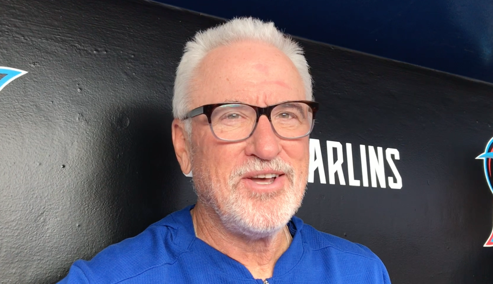 Joe Maddon on traveling in an April snowstorm in Chicago