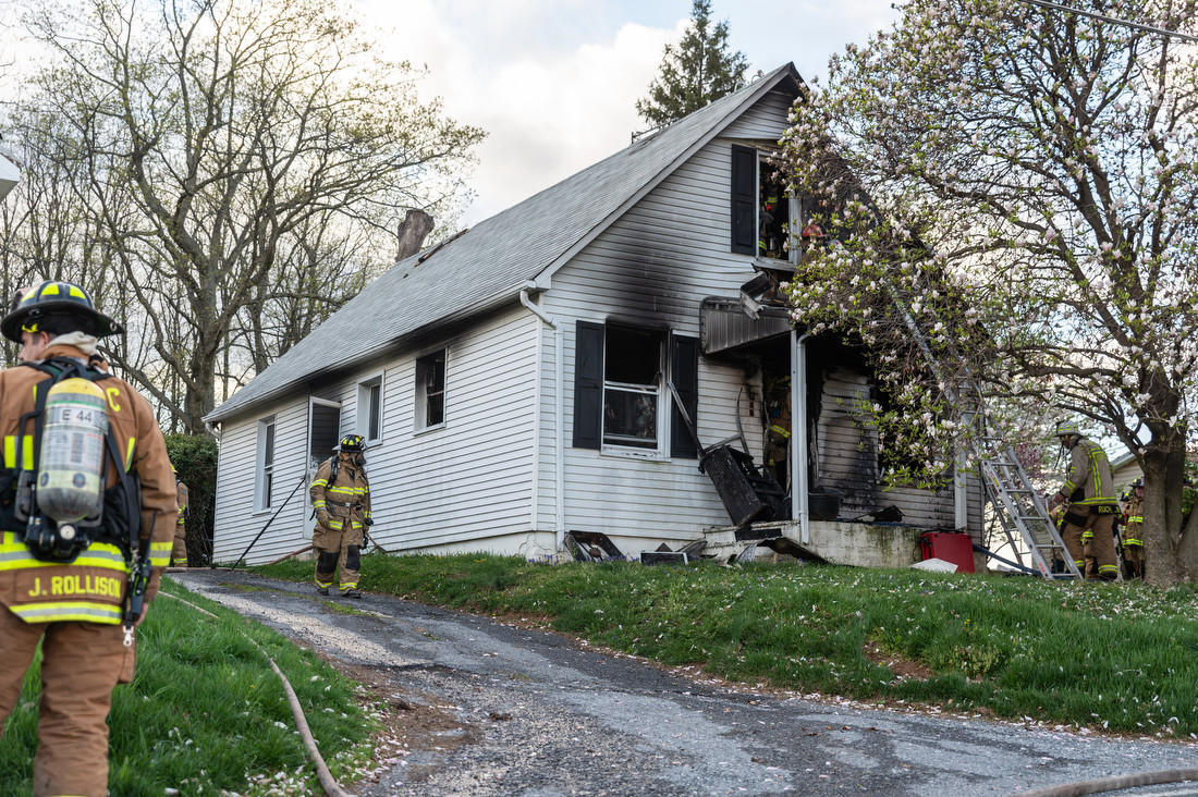 Woodbine fire leaves dog dead, sends person to hospital