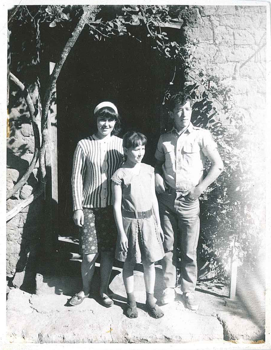 Maria de la Luz, Alicia, and Ezequiel Miranda