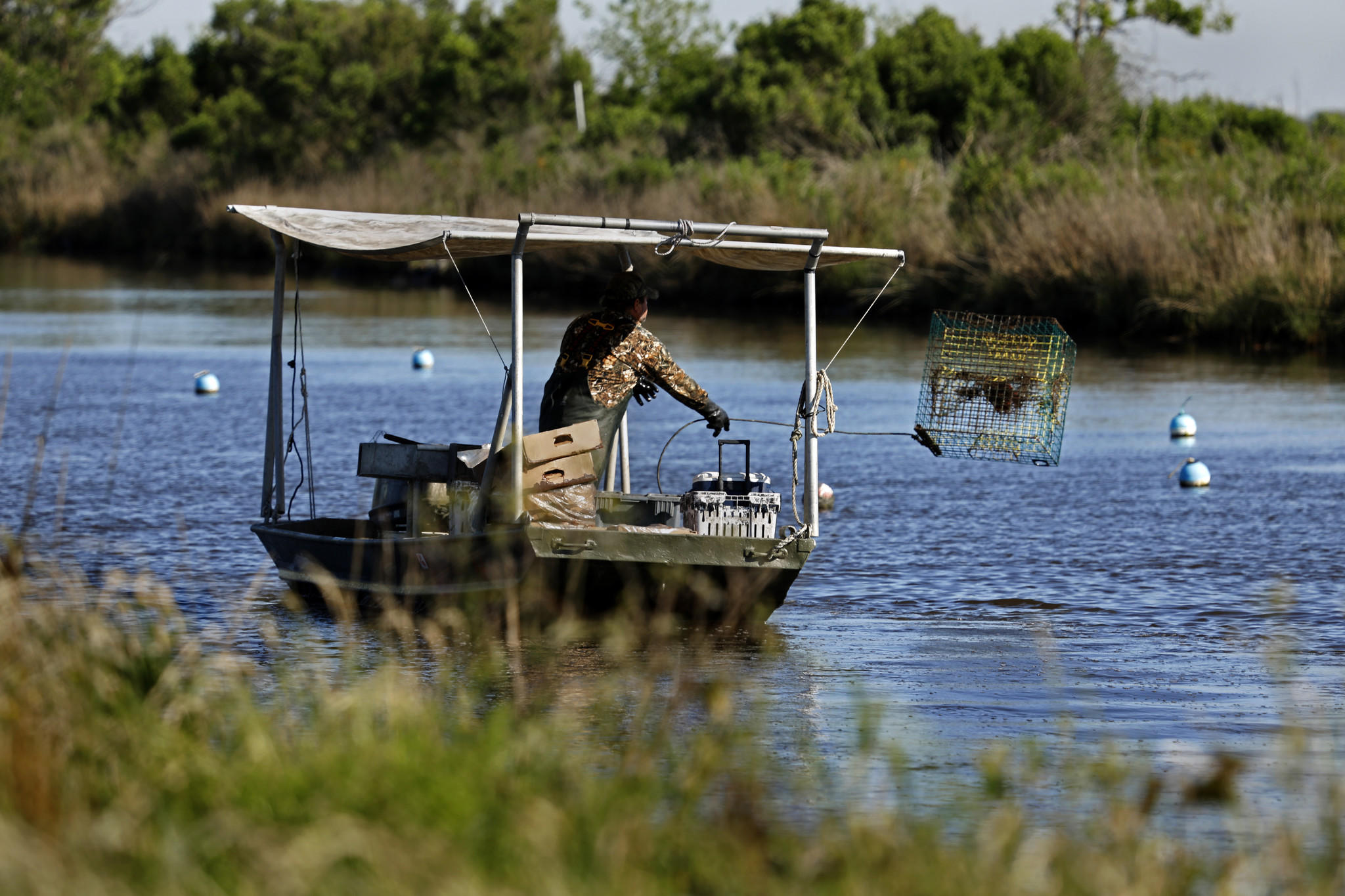 On A Sinking Louisiana Island Many Aren T Ready To Leave