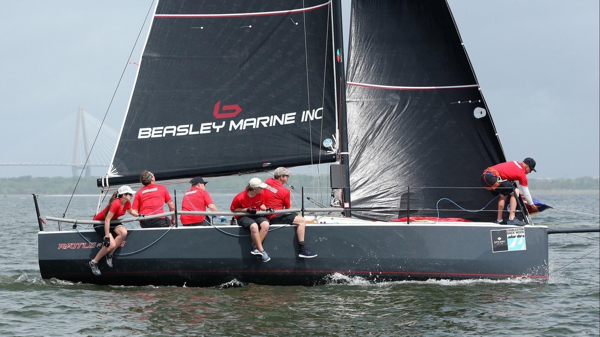 Annapolis skipper three-peats at Charleston Race Week