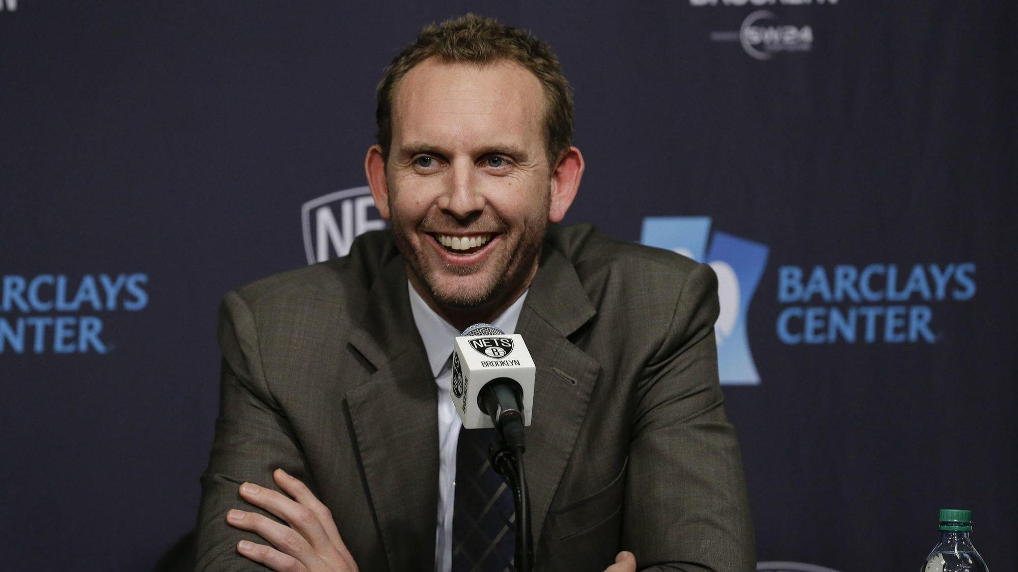 NBA fines, suspends Nets GM for entering refs locker room