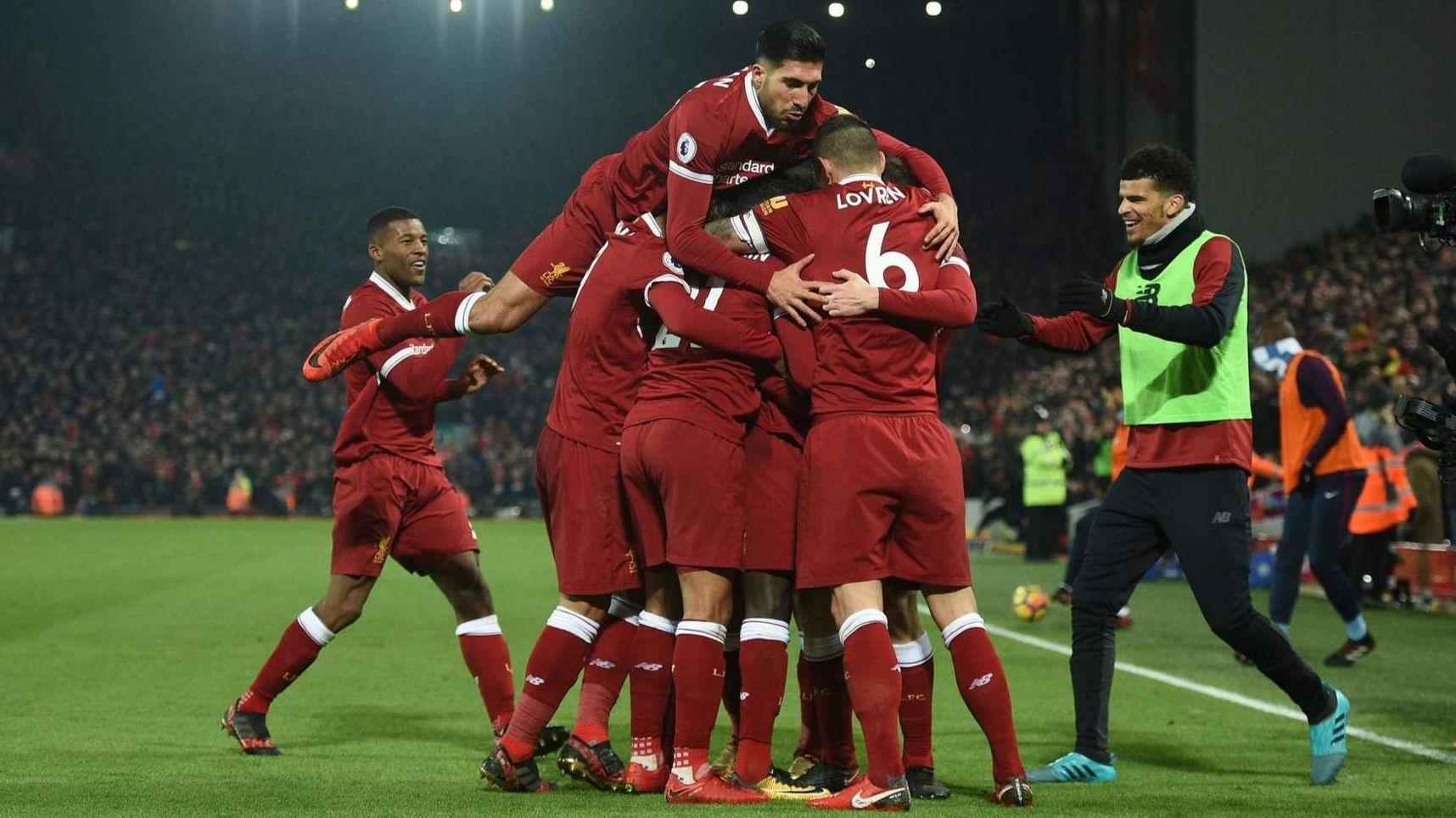 Liverpool - Top 10 Football Clubs In Europe, 2018