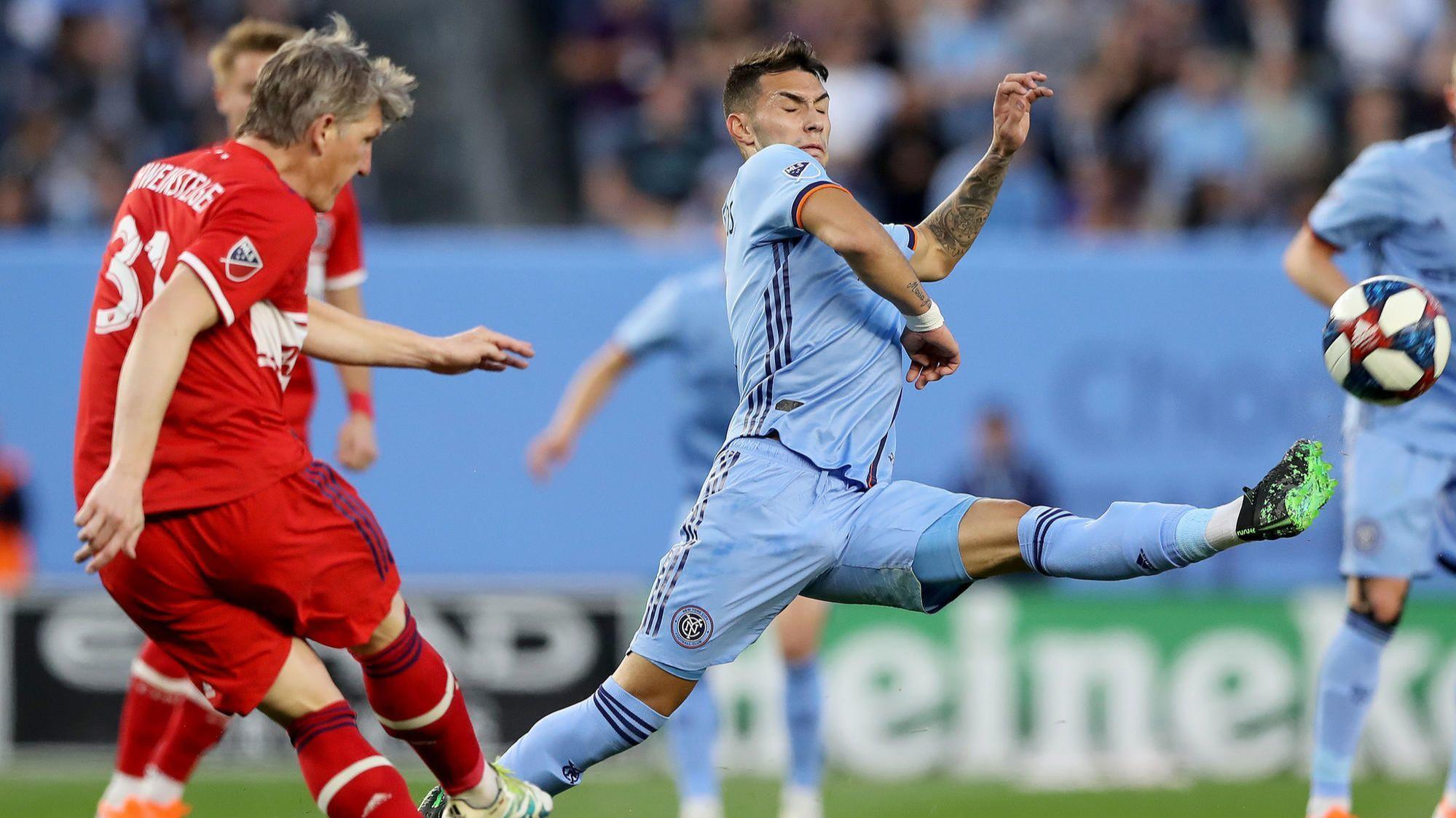 Fire's 4-game unbeaten streak ends with 1-0 road loss to NYC FC