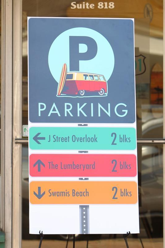 A rendering of a sample sign designed by Todd Anderson